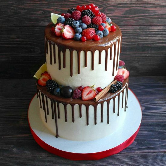 Свадебный торт из ресторана Мечта